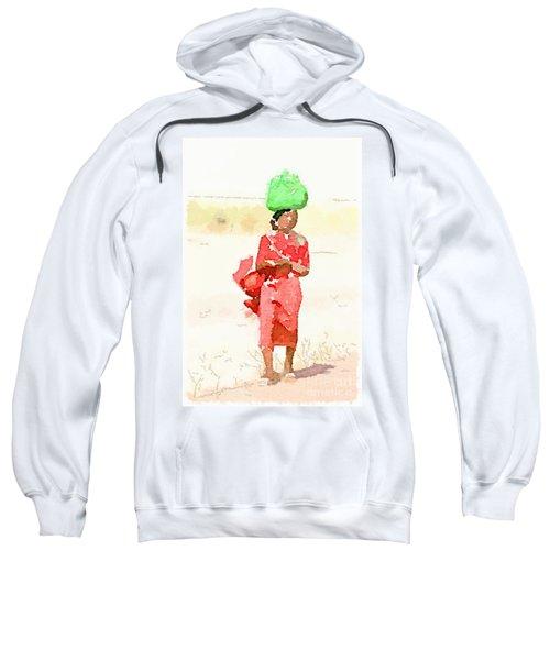 Woman Bag Sweatshirt