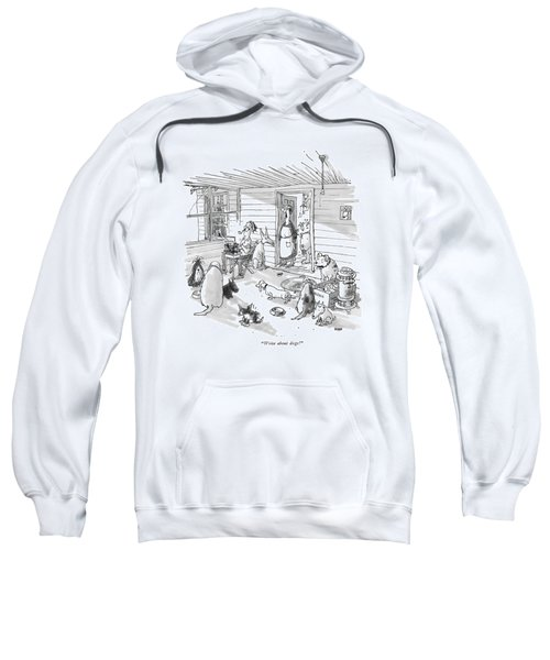 Write About Dogs! Sweatshirt