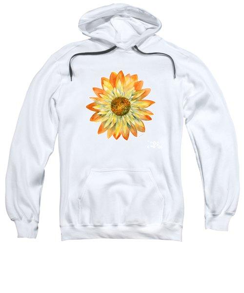 Yellow Orange Daisy Sweatshirt