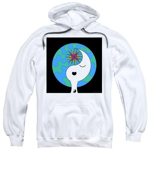 Yin Yang Crown 4 Sweatshirt