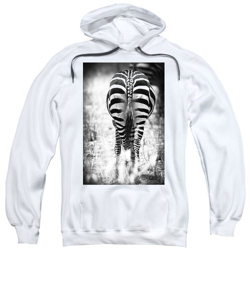 Zebra Butt Sweatshirt