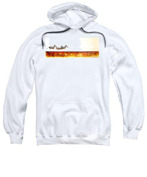 Zebra Crossing - Original Artwork Sweatshirt