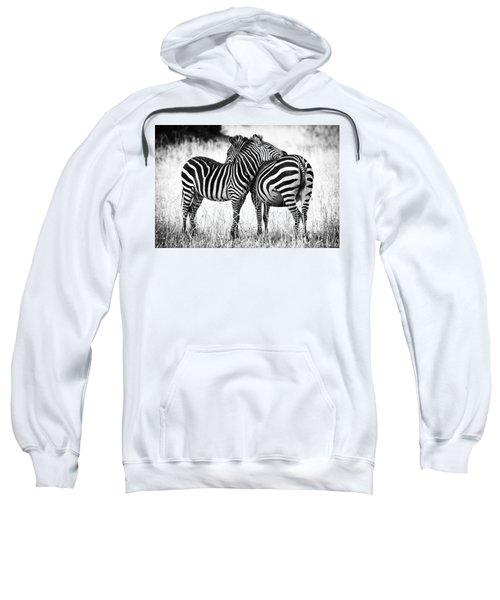 Zebra Love Sweatshirt
