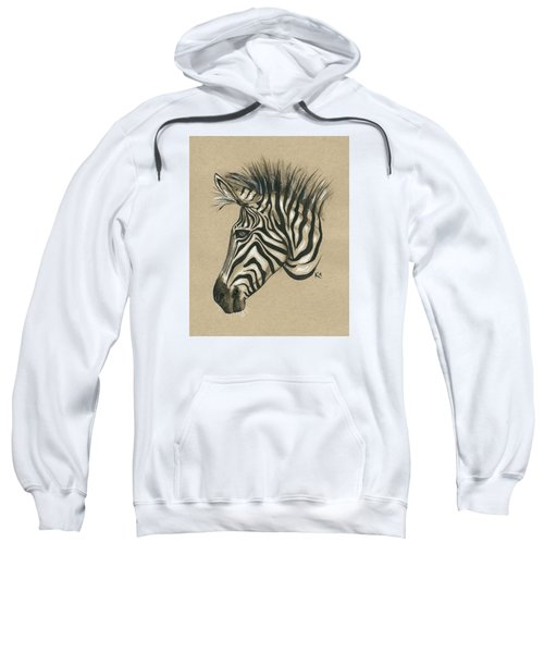 Zebra Profile Sweatshirt