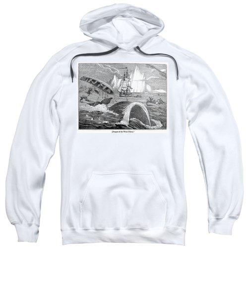 Whaling, 1833 Sweatshirt