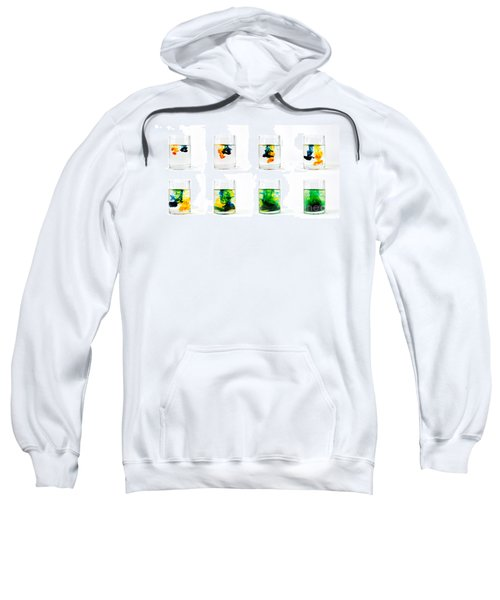 Yellow And Blue Become Green Sweatshirt