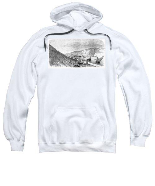 Suez Canal, 1869 Sweatshirt