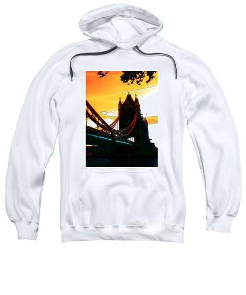 Sunset At Tower Brigde Sweatshirt