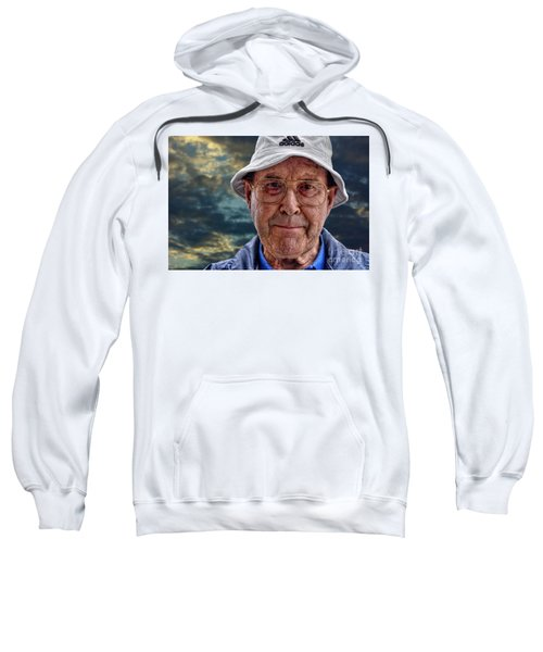 A Fellow Traveller In The Race Of Humans Sweatshirt