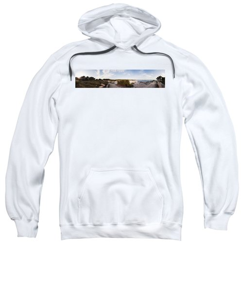 Access To The Beach Of Es Trenc Sweatshirt