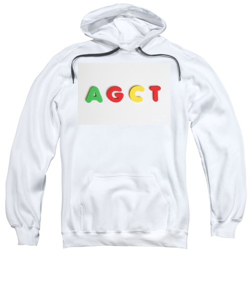 Agct, The Make Up Of Dna Sweatshirt