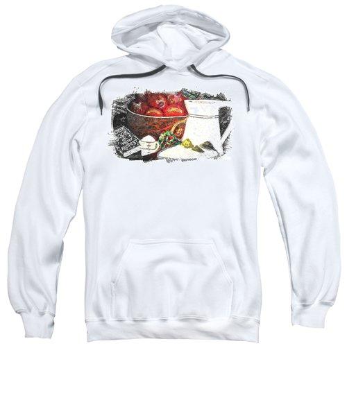 Apple And Rhubarb Pie Sweatshirt