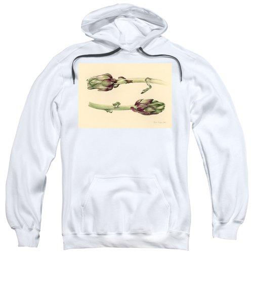 Artichokes Sweatshirt by Alison Cooper