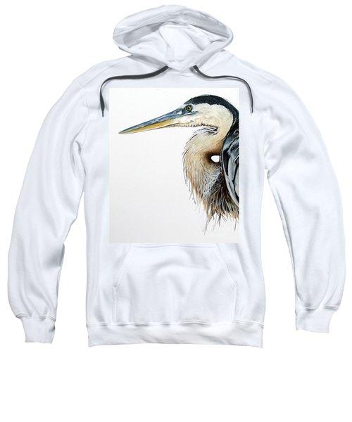 Blue Heron Study Sweatshirt