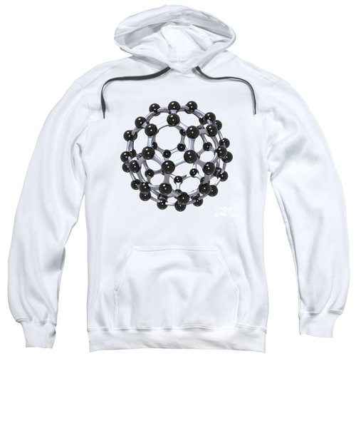 Buckminsterfullerene Or Buckyball C60 18 Sweatshirt