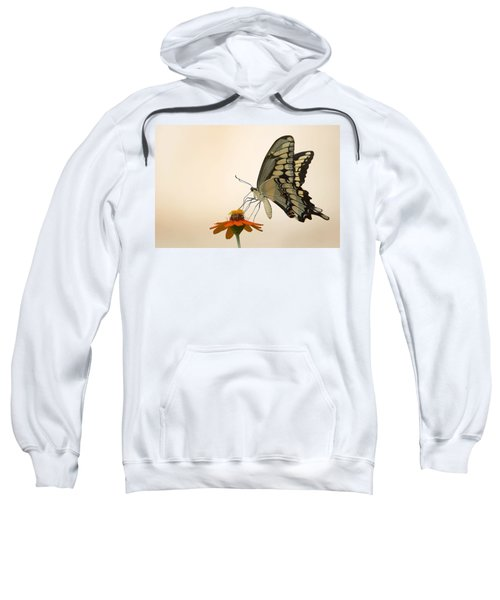 Butterfly And Flower Sweatshirt