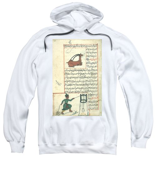 Capricorn And Aquarius, Zodiacal Sweatshirt