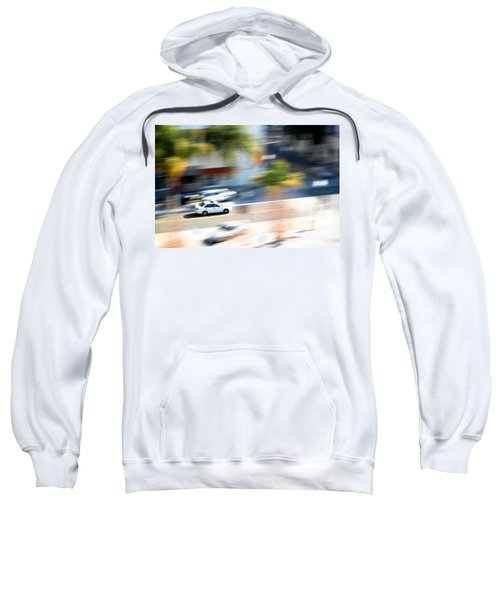 Car In Motion Sweatshirt