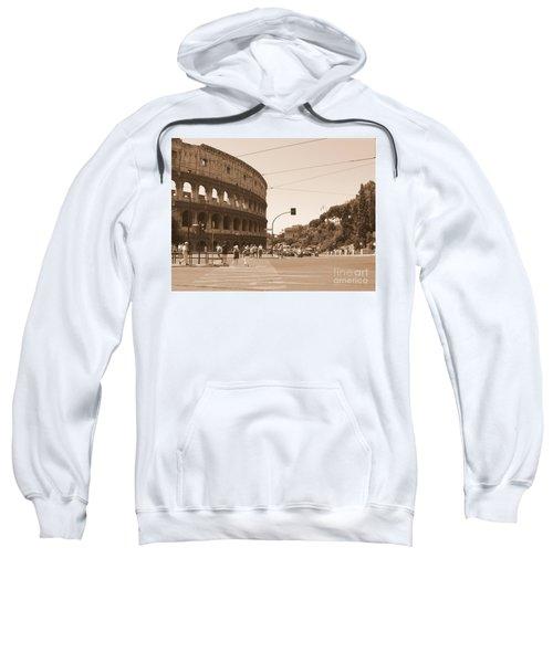 Colosseum In Sepia Sweatshirt