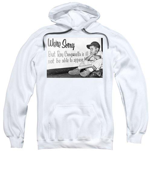 Disappointed Boy, 1957 Sweatshirt