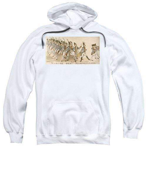 French Rev: Volunteer, 1792 Sweatshirt