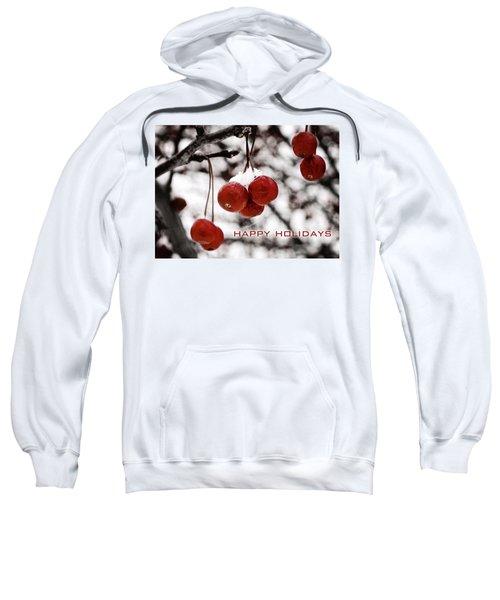 Happy Holidays Berries Sweatshirt