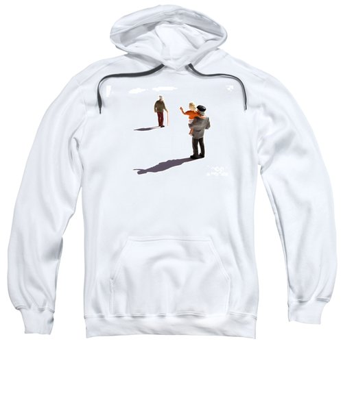 Illustration Of Elderlys Sweatshirt