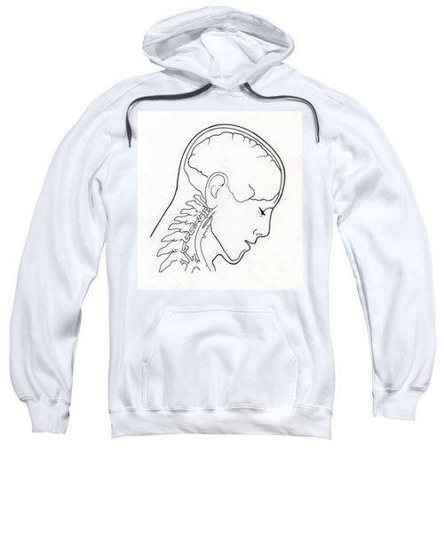 Illustration Of Whiplash Sweatshirt