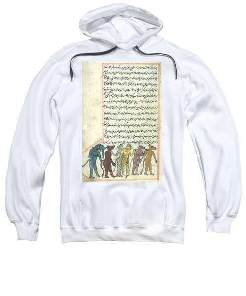 Islamic Demons, Jinns, 16th Century Sweatshirt