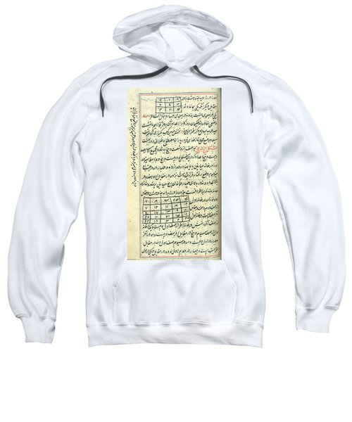 Islamic Magic Squares, 18th Century Sweatshirt