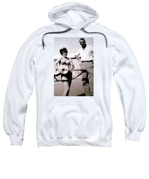 Mama Chris And Gary Cooper In Monte Carlo 1958 Sweatshirt