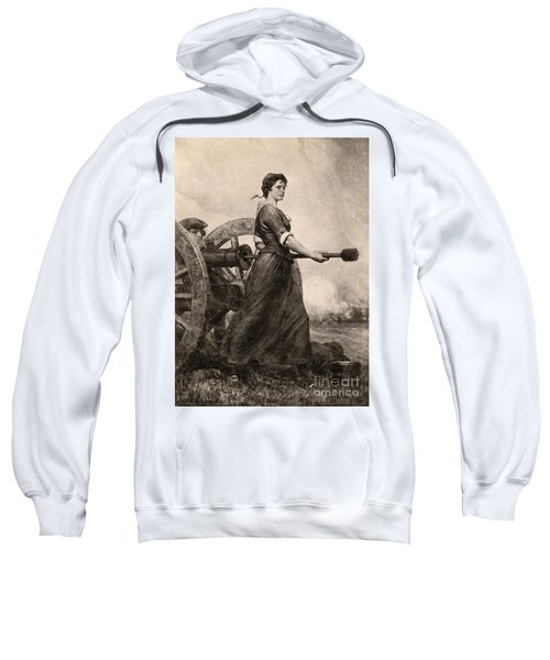 Molly Pitcher At The Battle Sweatshirt