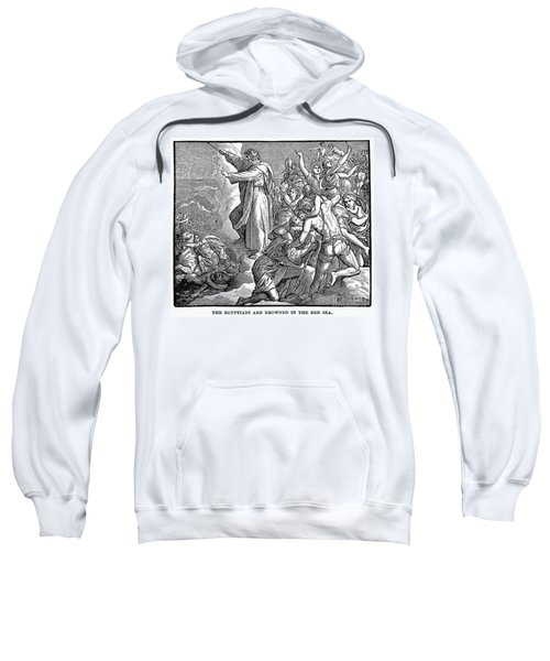 Moses And The Red Sea Sweatshirt