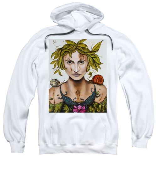 Mother Nature With Contrast Sweatshirt