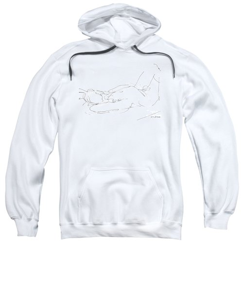Nude-male-drawings-12 Sweatshirt