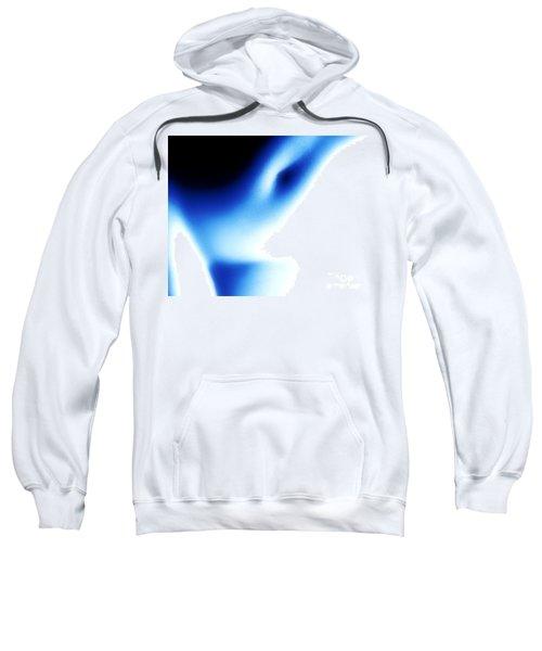Nude Torso Blue Black Sweatshirt