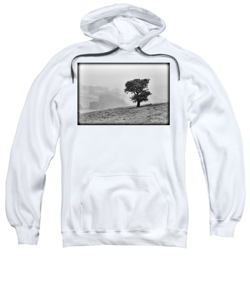 Oak Tree In The Mist. Sweatshirt by Clare Bambers