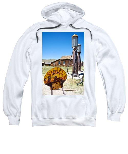 Old Gas Pumps Sweatshirt