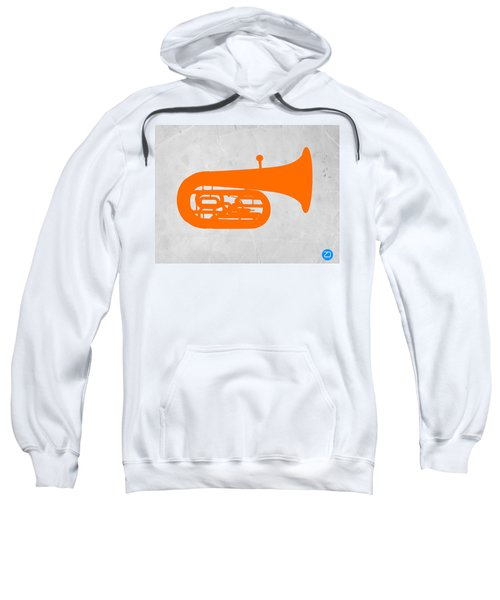 Orange Tuba Sweatshirt