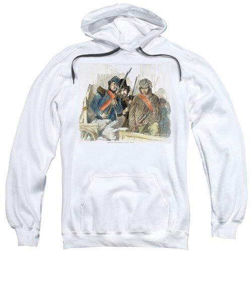 Paris Revolution, 1848 Sweatshirt