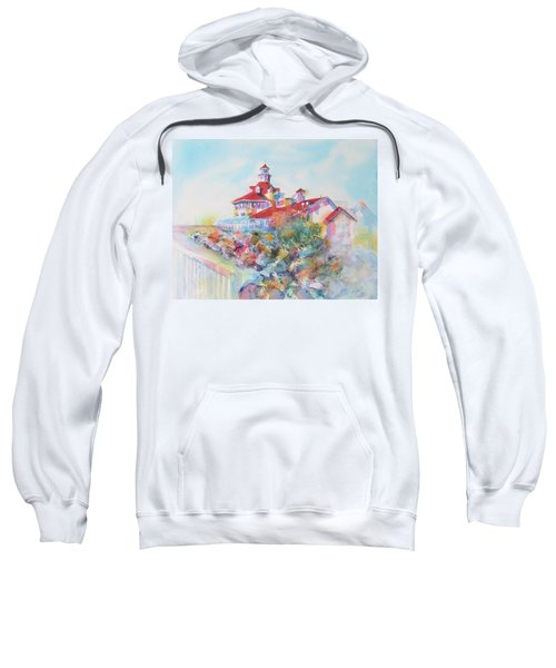 Party Time At Parker's Lighthouse Sweatshirt
