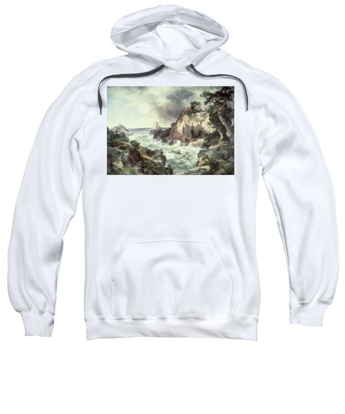 Point Lobos At Monterey In California Sweatshirt