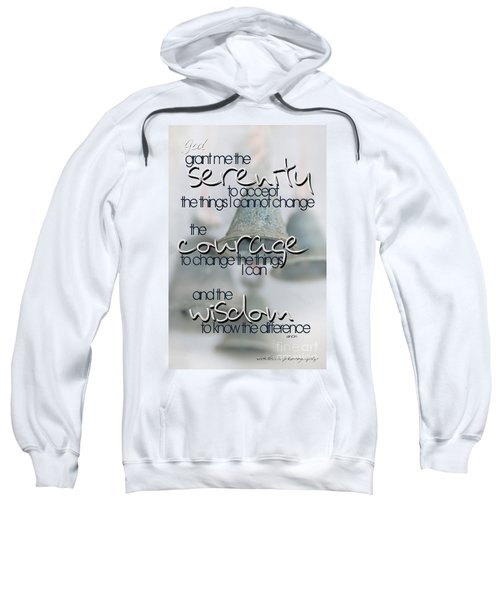 Serenity Prayer With Bells Sweatshirt