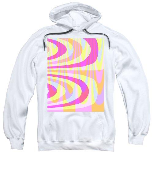 Seventies Swirls Sweatshirt