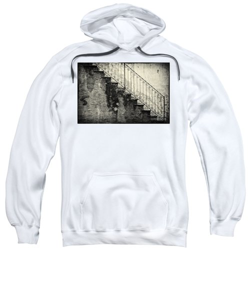 Stairs On A Rainy Day Sweatshirt