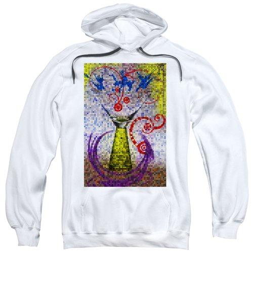 Tiled Glass Sweatshirt