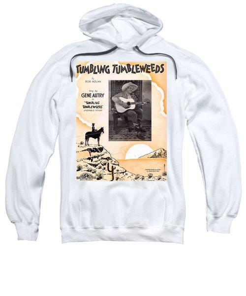Tumbling Tumbleweeds Sweatshirt