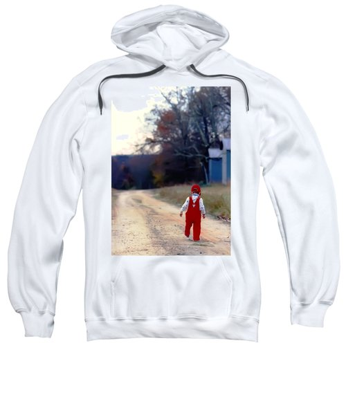 Walking On Pawpaw's Road Sweatshirt