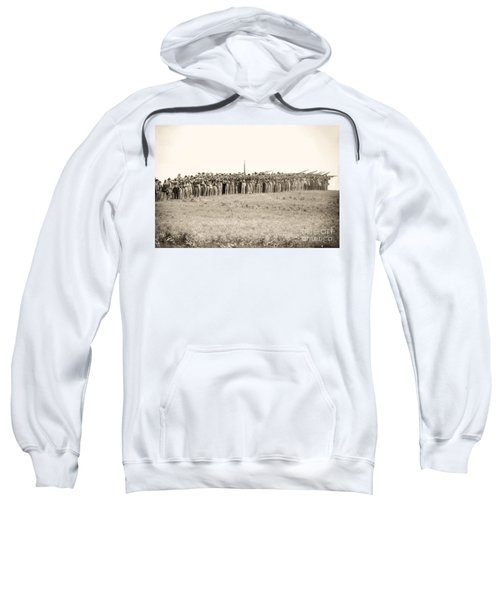 Gettysburg Confederate Infantry 0157s Sweatshirt