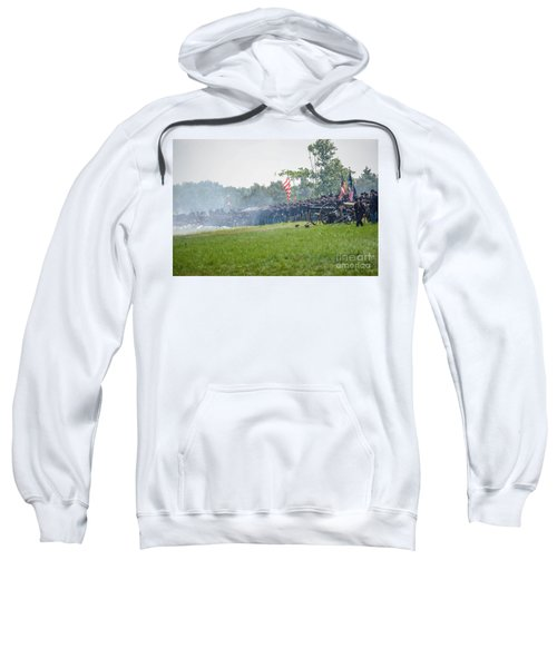 Gettysburg Union Infantry 9968c Sweatshirt